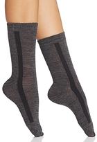 Hue Tuxedo Stripe Trouser Socks