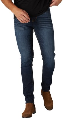 Hudson Ace Zip Fly Skinny Ankle Jeans