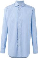 Barba striped button-up shirt