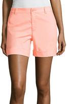 Liz Claiborne 5 Woven Cargo Shorts