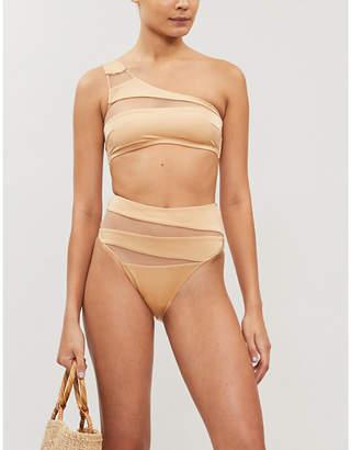 Emma Pake Oriana one-shoulder bikinit top