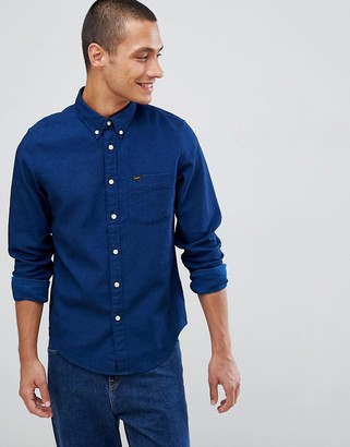 Lee Jeans denim western shirt-Blue
