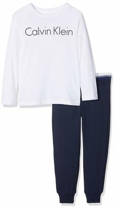 Calvin Klein Boy's Knit PJ Set (LS+Cuffed) Pajama