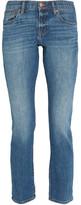 Madewell Boyjean Mid-rise Slim-leg Jeans - Mid denim