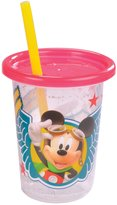 The First Years Disney Mickey Mouse Take and Toss, 9-Ounce Straw Cup, 3-Pack