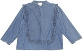 Laurence Dolige Blue Cotton Top for Women