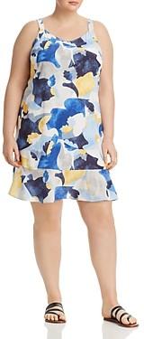 Nic+Zoe Plus Sun Seeker Printed Dress
