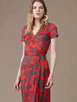 Diane von Furstenberg New Julian Short-Sleeve Wrap Dress