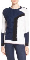 Rebecca Minkoff Women's 'Prim' Colorblock Sweater