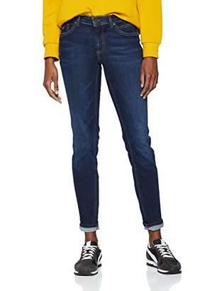 Marc O'Polo Women's 901931412045 Slim Jeans, (Dark Blue Base Wash 025), W27/L32 (Size: 27 32)