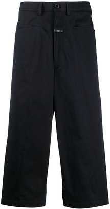Societe Anonyme High-Waisted Cropped Trousers