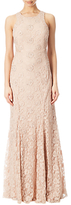 Adrianna Papell Halter Neck Beaded Gown, Blush