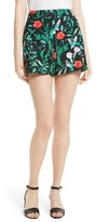 Kate Spade Women's Jardin Tile Jacquard Shorts