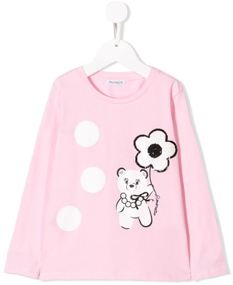 Simonetta Sequinned Teddy Bear Top