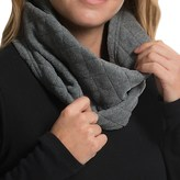 Fownes Brothers Quilted Fleece Snood Scarf (For Women)