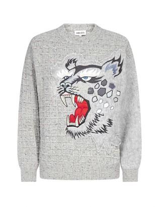 Kenzo X Kansai Yamamoto Cheetah Knitted Jumper