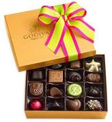 Godiva Chocolatier Assorted Chocolate Gold Gift Box, Spring Ribbon, 19 Piece