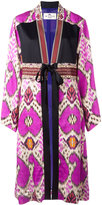 Etro abstract print kimono coat - women - Silk/Viscose/glass - 40