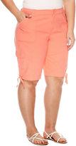 ST. JOHN'S BAY St. John's Bay Bermuda Shorts - Plus