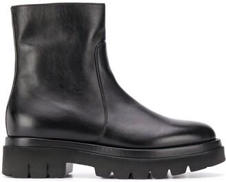 Santoni Chunky Sole Boots