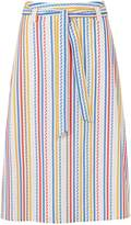 Sugarhill Boutique Jasmine Candy Stripe Belted Skirt