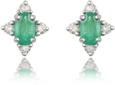 Incanto Royale Emerald and Diamond 18K Gold Earrings