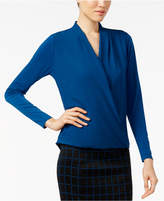 Alfani Surplice Top, Only at Macy's