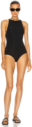Gucci One Piece Swimsuit in Black | FWRD