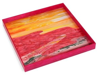 Edie Parker Square Acrylic Tray