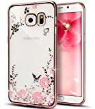 Urberry Samsung Galaxy S6 Cover, Bling Diamond TPU Case for Samsung Galaxy S6 with Free Screen Protector