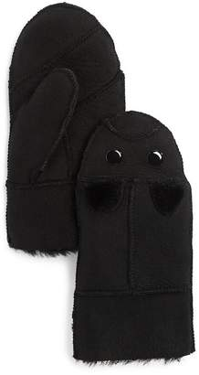 Surell Girls' Shearling Mittens - Sizes S-M