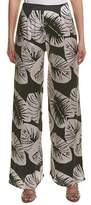 KENDALL + KYLIE Wrap Front Silk Pant.