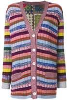 Gucci Women's Multicolor Wool Cardigan.