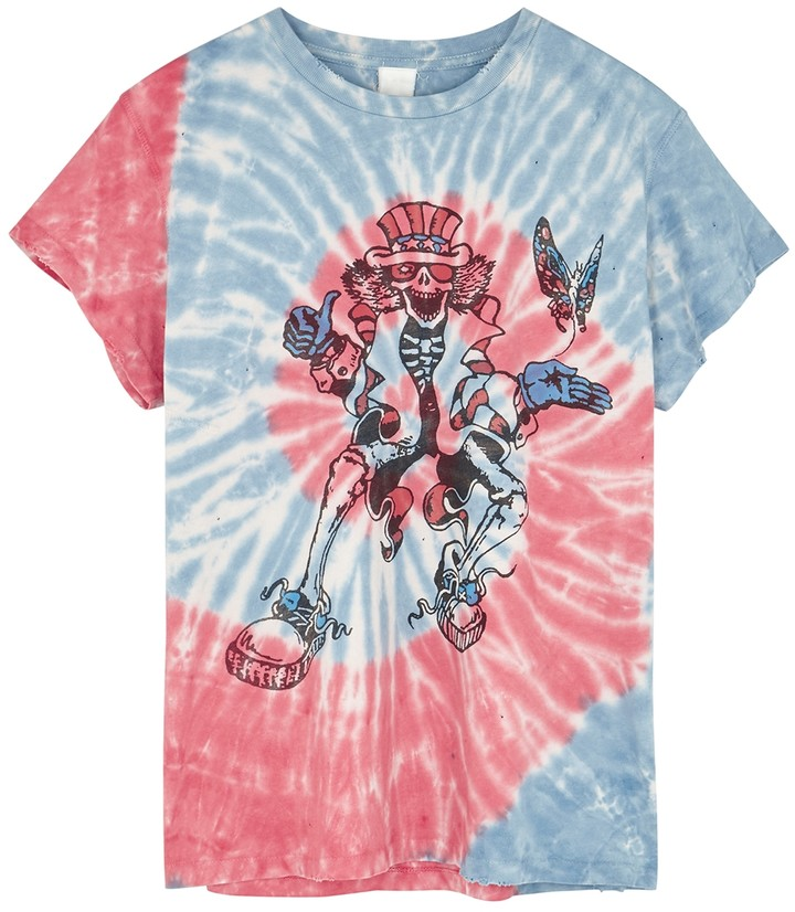 MadeWorn Grateful Dead Tie-dyed Cotton T-shirt