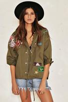 Nasty Gal Sophia Embroidered Jacket