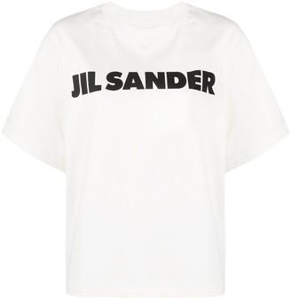 Jil Sander logo-print cotton T-shirt