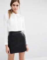 Suncoo Laora Shirt with Lace Collar