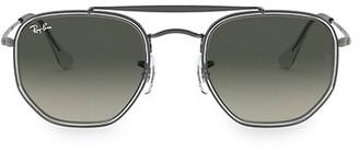Ray-Ban RB3648 52MM Geometric Aviator Sunglasses