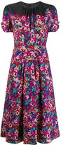 Marc Jacobs printed midi dress