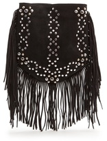 MANGO Studs and fringes bag
