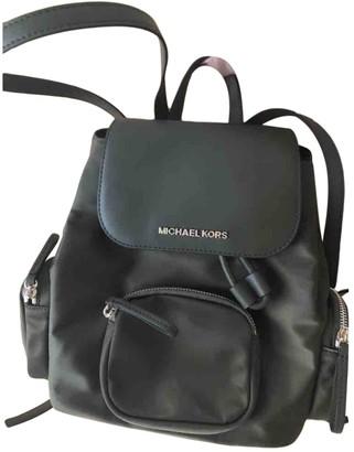 Michael Kors Abbey Khaki Polyester Backpacks