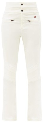 Perfect Moment Aurora Flared Ski Trousers - White