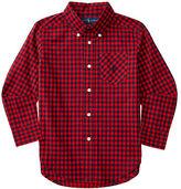 Ralph Lauren Plaid Cotton Pocket Shirt