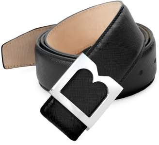 Bruno Magli Textured Leather Belt