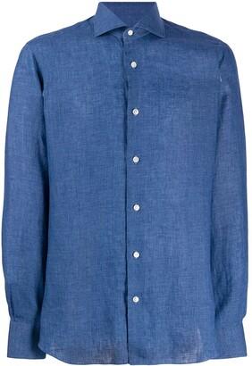 Barba Linen Long Sleeve Shirt
