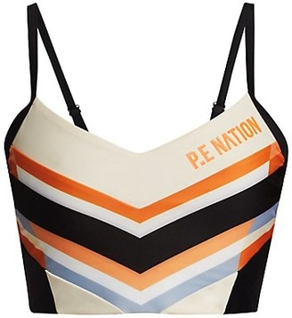 P.E Nation Score Runners Sports Bra