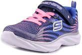 Skechers Girls' Pepsters Colorbeam Graphic Print Sneaker Navy/Pink 12 M US