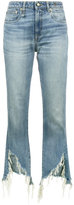 R 13 Kick Fit Distressed Skinny Jeans