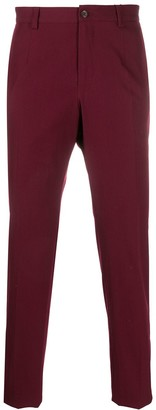 Dolce & Gabbana Adjustable Button Strap Tailored Trousers