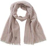 Frye Herringbone Stripe Wool & Cashmere Blend Scarf